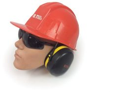 אוזניות מגן דאבל פנל גמישות ביטק btech
