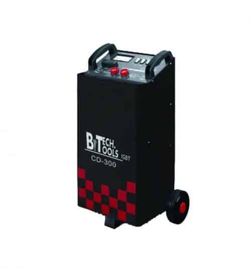 מטען מצברים בוסטר עמדה דיגיטלי 500 ביטק btech