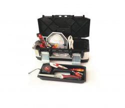 סט ארגז כלים נירוסטה משולב ABS ביטק btech