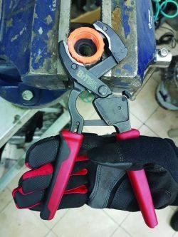 פלייר צינורות פלסטיק רצ״ט - 3 ב 1- סידרה 3 יד אחת ביטק btech