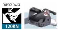 חותך כבלים חשמל הידראולי ביטק btech