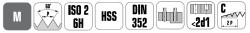 סט מברזים CO DIN352 4503 ביטק btech