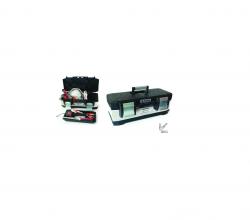 ארגז כלים נירוסטה משולב ABS ביטק btech