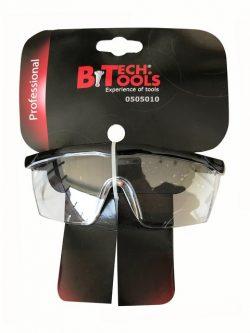 משקפי מגן UV שקופות גמישות ביטק btech