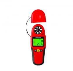 מד זרימה וטמפרטורת אויר דיגיטלי ביטק btech