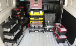 ארגזי כלים, עמדות וארגוניות עבודה