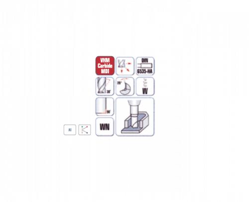 RR וידיה PVC- סדרה 6495 כרסום פלוט ל ביטק btech